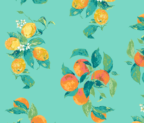 citric fabric by katarina on Spoonflower - custom fabric