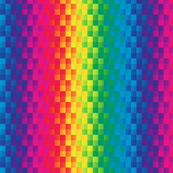 rainbow square stripe