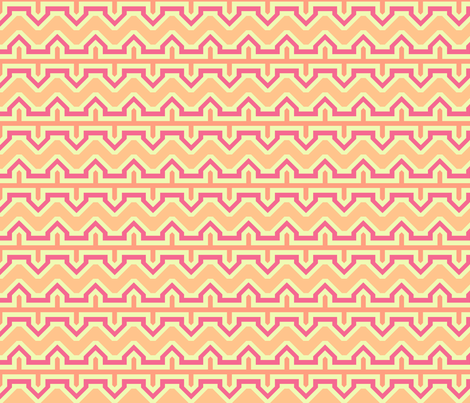 Space Filled Chevron fabric by arm_pillozzz on Spoonflower - custom fabric