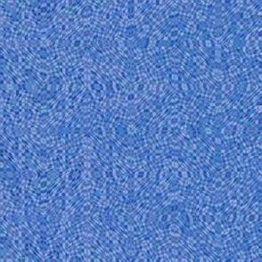 serene blue mosaic