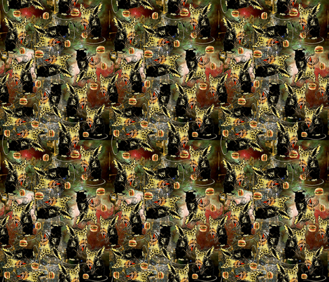 Monster Heaven fabric by whimzwhirled on Spoonflower - custom fabric