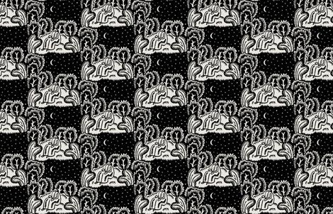 stargazer toile fabric by keweenawchris on Spoonflower - custom fabric