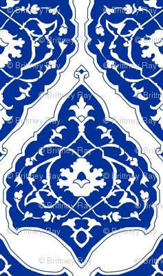16th Century Carpet China Blue