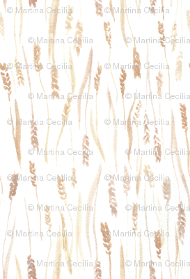 Wheat Watercolor