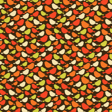 Ð¡ute bird. fabric by panova on Spoonflower - custom fabric