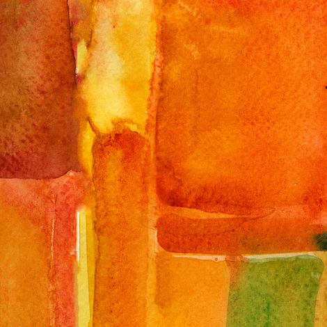 geometric watercolor fabric by aliceelettrica on Spoonflower - custom fabric