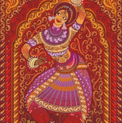 Indian-dancer-red