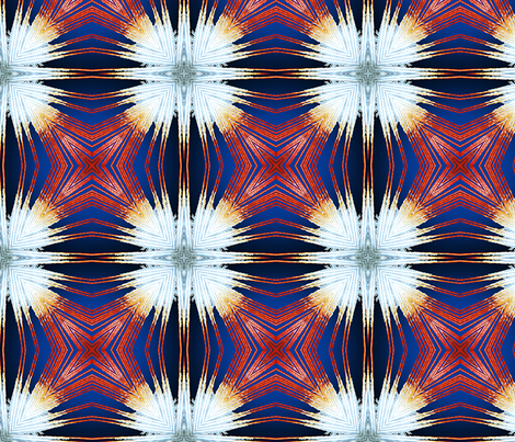 Golden Patriot 4up fabric by feather_rishi on Spoonflower - custom fabric