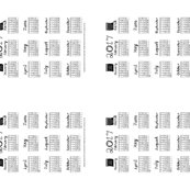 2017_calendar_fabric_font_black_and_white_4_tea_towels_on_yard_by_kristie_hubler_110716_shop_thumb
