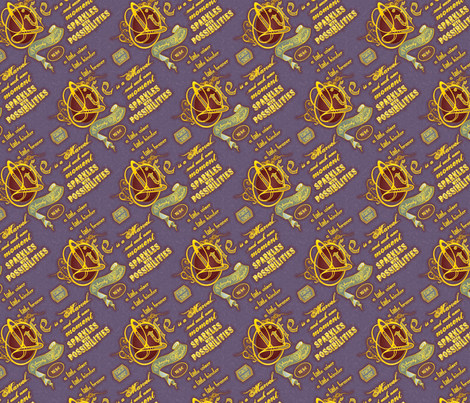 I hereby Resolve... fabric by artgarage on Spoonflower - custom fabric