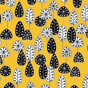 Bold Garden Saffron Yellow