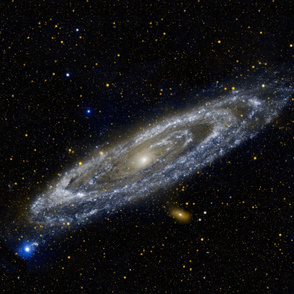 Andromeda Galaxy Yard (42x36 in)