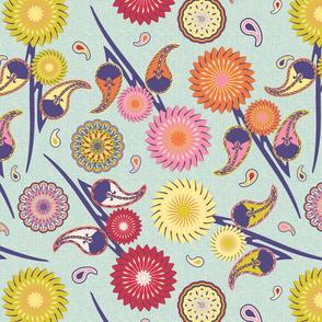 Boho Floral (Restricted palette)