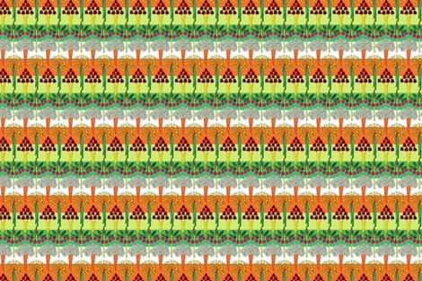 Joyous Veggies fabric by lucylucylucy on Spoonflower - custom fabric