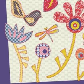 Spring Garden Quilt Block