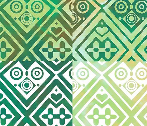 Geometric_Batik_Quartet