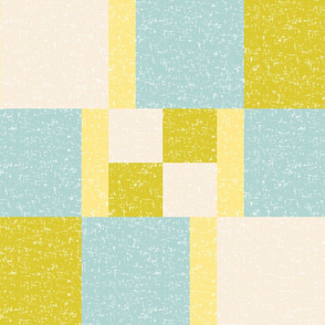 Color block 1 for Egyptian Spring Cheater Quilt Block (limited palette) by Su_G
