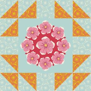 Blossom - Goose quilt