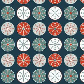 Snowflake Circles (Classic)