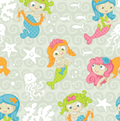 Mermaids (light)