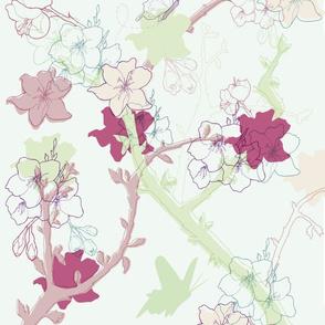 Abundance of blossom