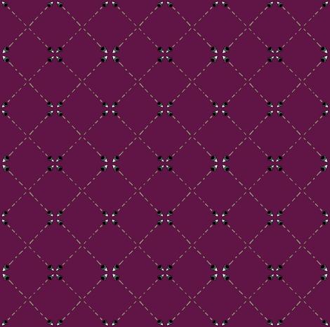 The Evil Eye fabric by especiallycreativebroad on Spoonflower - custom fabric