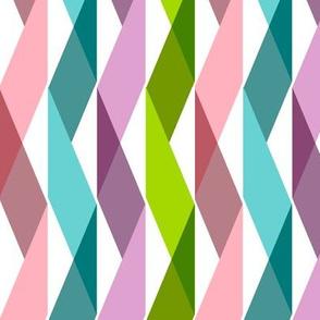 Streaming (Maxi) || party ribbon crepe paper streamers triangles geometric chevron birthday celebration
