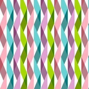 Streaming (Midi) || party ribbon crepe paper streamers triangles geometric chevron birthday celebration