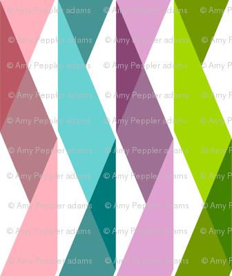 Wynton (Mini) || party ribbon crepe paper streamers triangles geometric chevron birthday celebration