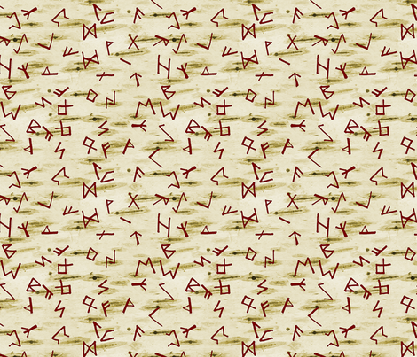 Runes fabric by arts_and_herbs on Spoonflower - custom fabric
