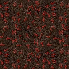 Runes on Leather