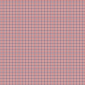 PLAID CHEATER MOSAIC Red Blue