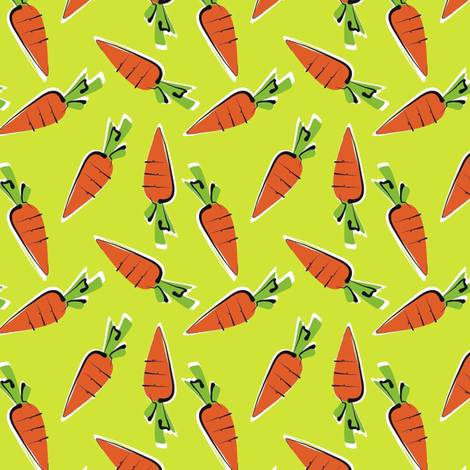 baby carrots - thai surprise! fabric by moirarae on Spoonflower - custom fabric