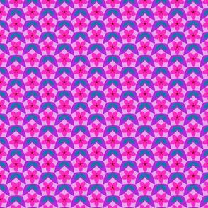 Pentagon Floral Diaper  (Mad palette v1)