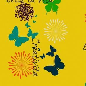 Yellow Butterflies