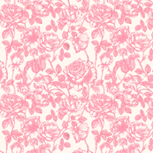 Toile de Jouy roses_pink