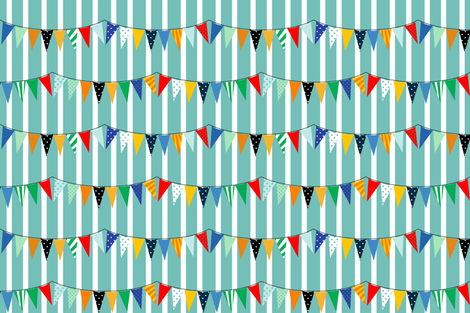 tent banners  fabric by keweenawchris on Spoonflower - custom fabric