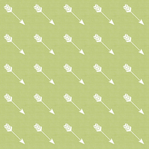 Arrow Diagonal in Cactus Green