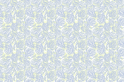 Coral Sea Fan Dance fabric by lulabelle on Spoonflower - custom fabric