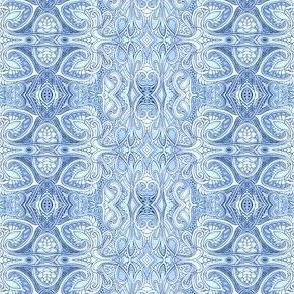 Blue Spade Vertical Stripe