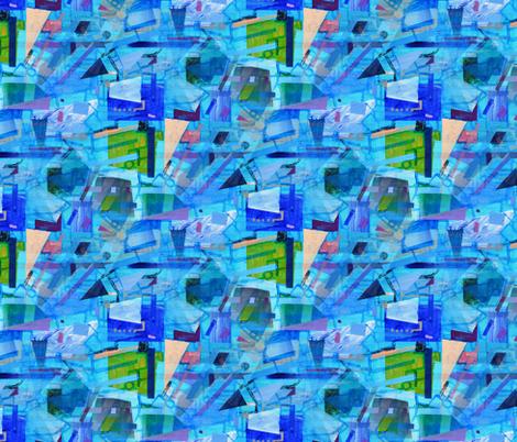 Technocool fabric by nerdlypainter on Spoonflower - custom fabric