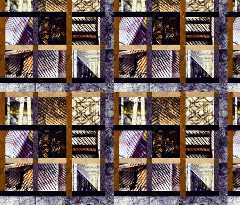 CITY_WINDOWS__9 fabric by lulutigs on Spoonflower - custom fabric