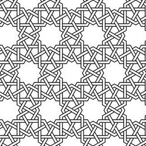 dodec-tri star weave