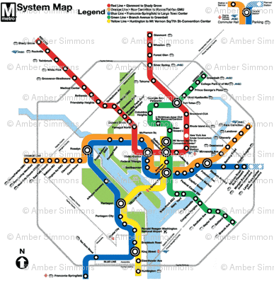 DC Metro Color Update