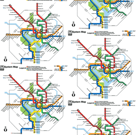 DC Metro Color Update fabric by missparayim on Spoonflower - custom fabric