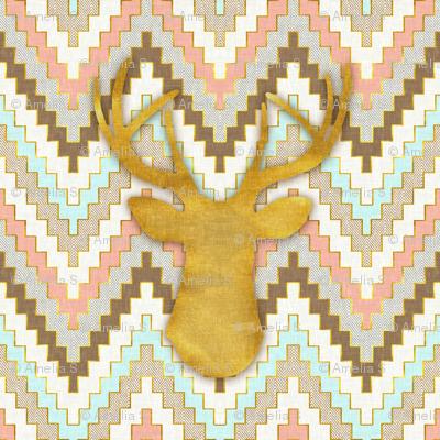 Chevron and Deer
