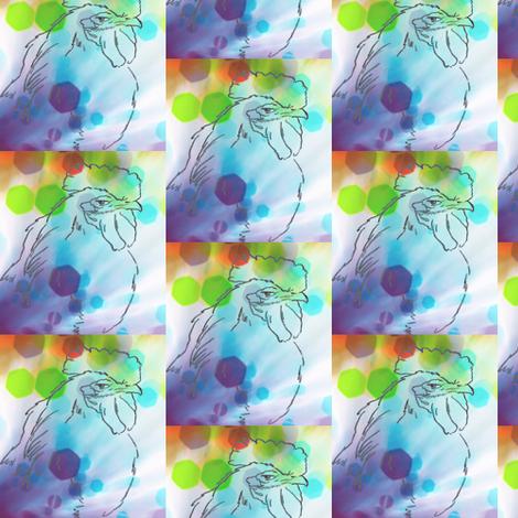 smug roo-bubbles fabric by cathymcg on Spoonflower - custom fabric