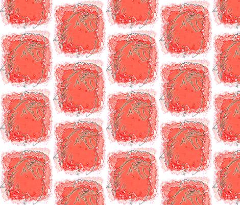 smug roo- red blodge fabric by cathymcg on Spoonflower - custom fabric