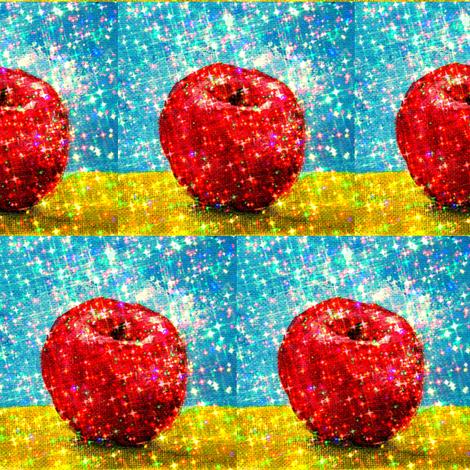 apple sparkle fabric by cathymcg on Spoonflower - custom fabric