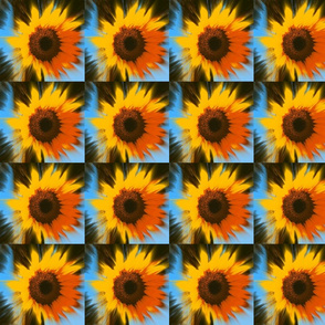 SunBurst Sunflower